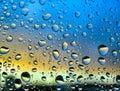 Stürmische Tröpfchen #1 Stockfoto
