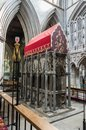 St Albans Abbey Cathedral. Norman, gothic. Royalty Free Stock Photo