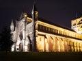 St Albans abbey church illumination England UK Royalty Free Stock Photo