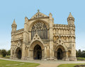 St albans cathedral hertfordshire england the and abbey of the church of dating from norman times in Royalty Free Stock Image
