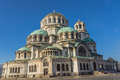 St alexander nevsky bulgarian orthodox cathedral sofia bulgaria Stock Photography