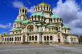 St alexander nevsky cathedral sofia bulgaria september the is a bulgarian orthodox in sofia the capital of bulgaria on Stock Photography