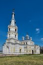 St alexander nevsky church in stameriena latvia at sunny spring day the was built – the was renewed to its Royalty Free Stock Photos