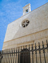 St. Andrea Church. Molfetta. Apulia. Stock Image