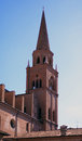 St. Andrew cathedral, Mantua, Italy Stock Photos