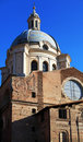 St. Andrew cathedral, Mantua, Italy Stock Photography