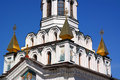 St andrew church fragment of in kiev ukraine Stock Photography