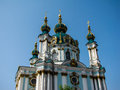 St. Andrew Church, Kiev Royalty Free Stock Photo