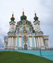 St andrew orthodox church in kiev Royalty Free Stock Photos