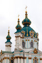 St andrew s cathedral in kiev ukranie Royalty Free Stock Photography