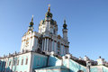 St andrew s church kiev the saint this is a major located in baroque Stock Photos