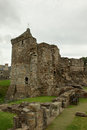 St andrews castle ruins medieval landmark fife scotland Stock Image