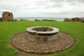 St Andrews Castle Ruins Medieval Landmark. Fife, Scotland Royalty Free Stock Photo