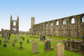 St Andrews cathedral Stock Photo