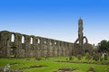 St Andrews cathedral grounds Royalty Free Stock Photography