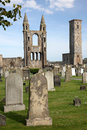 St Andrews cathedral grounds, Scotland, UK Royalty Free Stock Photo