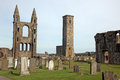 St Andrews cathedral grounds, Scotland Royalty Free Stock Photo