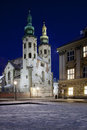 St Andrews Church - Krakow - Poland Stock Image
