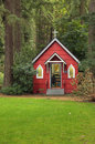 St Ann's Chapel in the woods, Portland OR. Stock Photo
