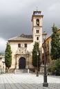 St anna church granada spain Stock Photos