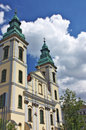 St. Anna church in Pest, Budapest Stock Photos