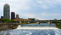 St Anthony Falls Royalty Free Stock Images