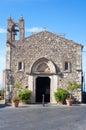 St antonio s antonio s church taormina italy may at gate catania in taormina italy Royalty Free Stock Photos