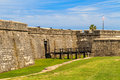 St augustine fort castillo de san marcos national monument florida Stock Image