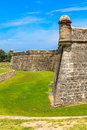 St augustine fort castillo de san marcos national monument florida Stock Photography