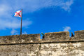 St augustine fort castillo de san marcos national monument florida Royalty Free Stock Images