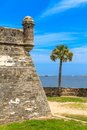 St augustine fort castillo de san marcos national monument florida Stock Photos