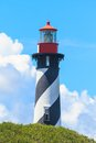 St augustine lighthouse florida in usa Royalty Free Stock Image