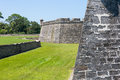St. Augustine Spanish Fort Royalty Free Stock Photo