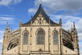 St. Barbara cathedral in Kutna Hora Royalty Free Stock Image