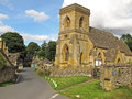 St barnabas church snowshill cotswolds historic in the village of Royalty Free Stock Photos