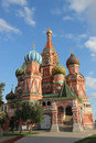 St. Basil Blazhenova in Moscow Royalty Free Stock Photo