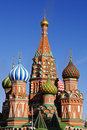 St. Basil Cathedral Royalty Free Stock Photo