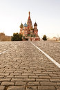 St. basil cathedral in Moscow Stock Photography