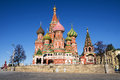 St. Basil Cathedral in Moscow, Russia Royalty Free Stock Photo