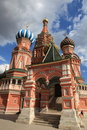 St. Basil Cathedral. Moscow, Russia, Red Square Royalty Free Stock Photos