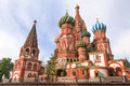 St. Basil Cathedral. Moscow, Russia, Red Square Royalty Free Stock Photo