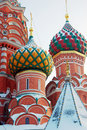 St. Basil Cathedral, Red Square, Moscow, Russia. Stock Photo