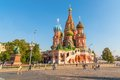 St basil cathedral red square moscow russia saint s the of the protection of most holy Stock Photos
