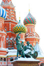 St. Basil Cathedral, Red Square, Moscow, Russia. UNESCO World He Royalty Free Stock Photo
