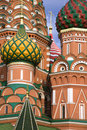 St. Basil church in Moscow Royalty Free Stock Photo