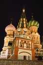 St-Basil in Moscow Royalty Free Stock Photography