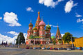 St.Basil's Cathedral Royalty Free Stock Photography