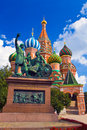 St.Basil's Cathedral Stock Photography