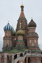St basil s cathedral kremlin in red square Stock Photography