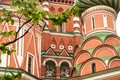 St. Basil`s Cathedral in Moscow Red Square Royalty Free Stock Photo